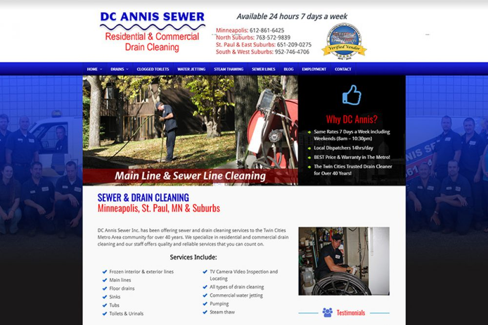DC Annis Sewer