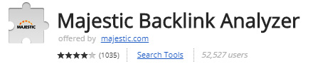 Majestic Backlink Analyzer