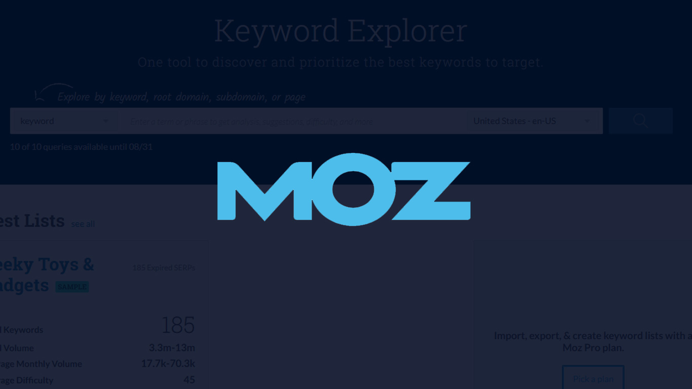 MOZ Announces Acquisition of STAT Search Analytics