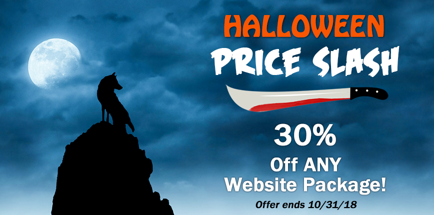 halloween price slash