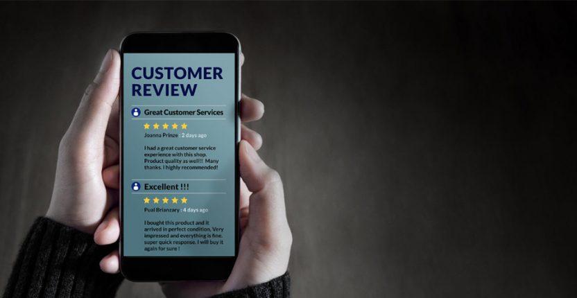 Gender based study reveals a stark constrast for online review habits