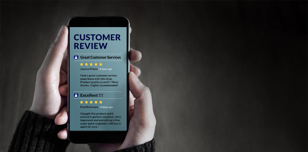 Gender based study reveals a stark constrast for online review habits