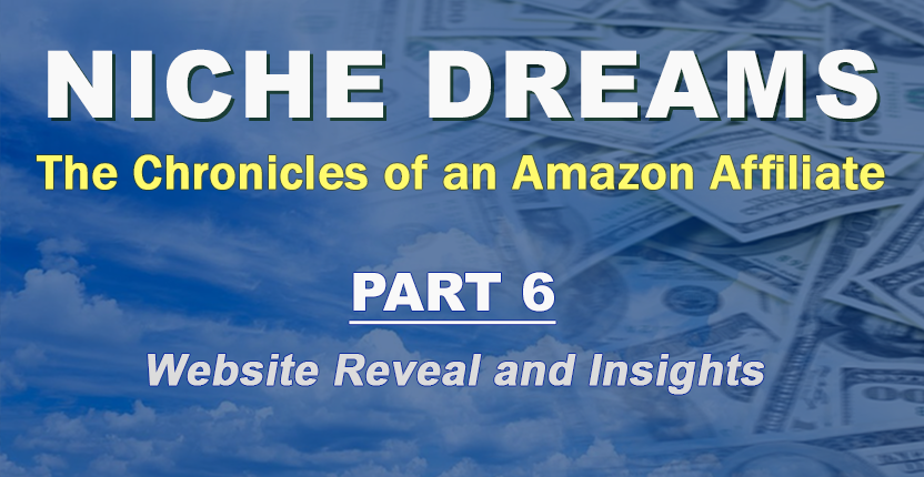 Niche Dreams – Part 6: Website Reveal and Insights